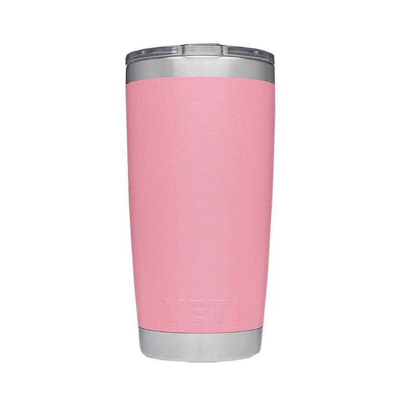 Cups & Glassware - 20 Oz. DuraCoat Rambler Tumbler In Pink With Magslider™ Lid By YETI