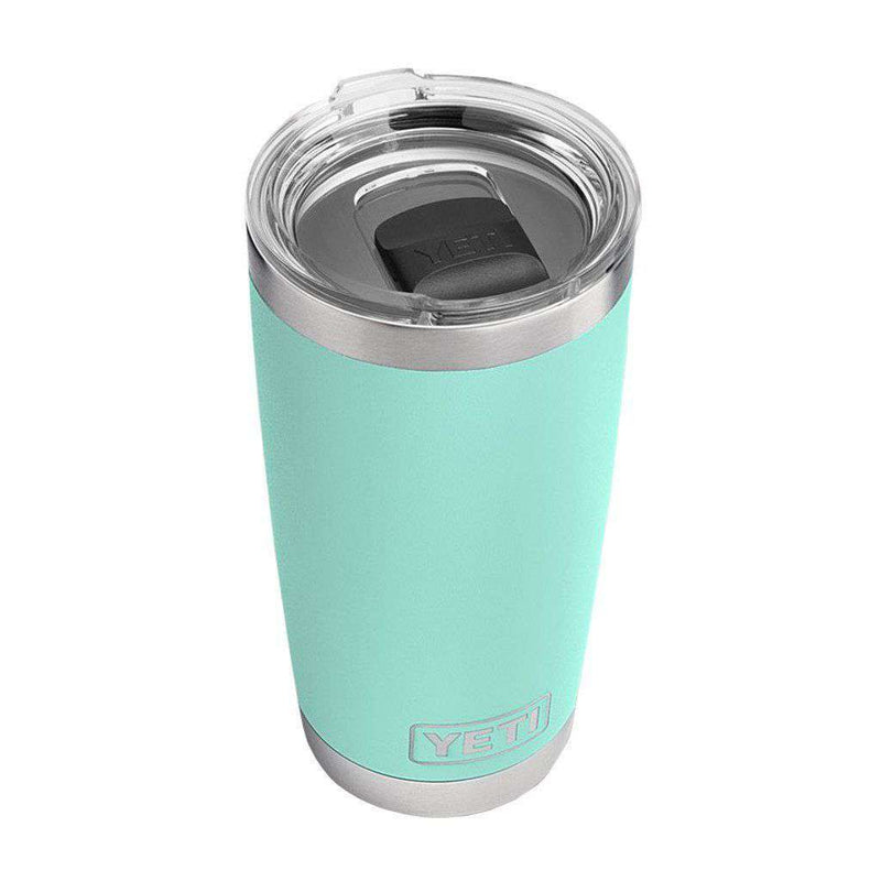 Cups & Glassware - 20 Oz. DuraCoat Rambler Tumbler In Seafoam With Magslider™ Lid By YETI