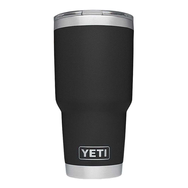 Cups & Glassware - 30 Oz. DuraCoat Rambler Tumbler In Black By YETI