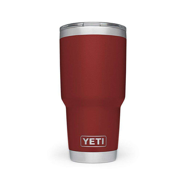 Cups & Glassware - 30 Oz. DuraCoat  Rambler Tumbler In Brick Red With Magslider™ Lid By YETI