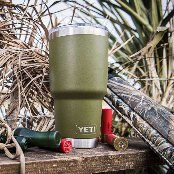 30 oz. DuraCoat Rambler Tumbler in Olive Green by YETI