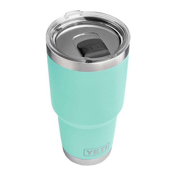 Cups & Glassware - 30 Oz. DuraCoat Rambler Tumbler In Seafoam With Magslider™ Lid By YETI
