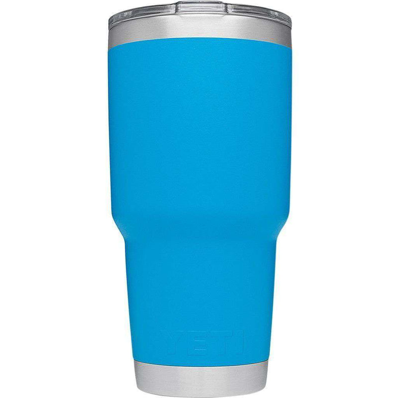 30 oz. DuraCoat  Rambler Tumbler in Tahoe Blue by YETI