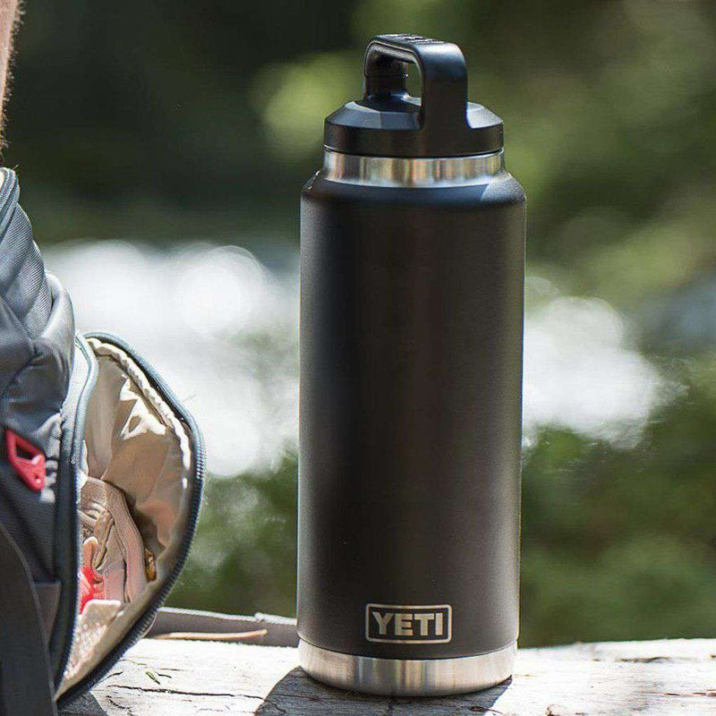 36 oz. Rambler Bottle in Black by YETI