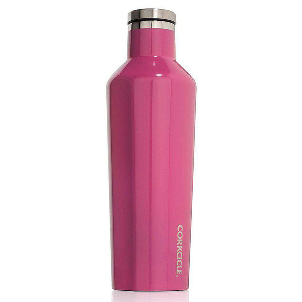 Classic 16 Oz. Canteen in Gloss Pink by Corkcicle