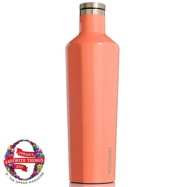 Classic 25 Oz. Canteen in Coral by Corkcicle