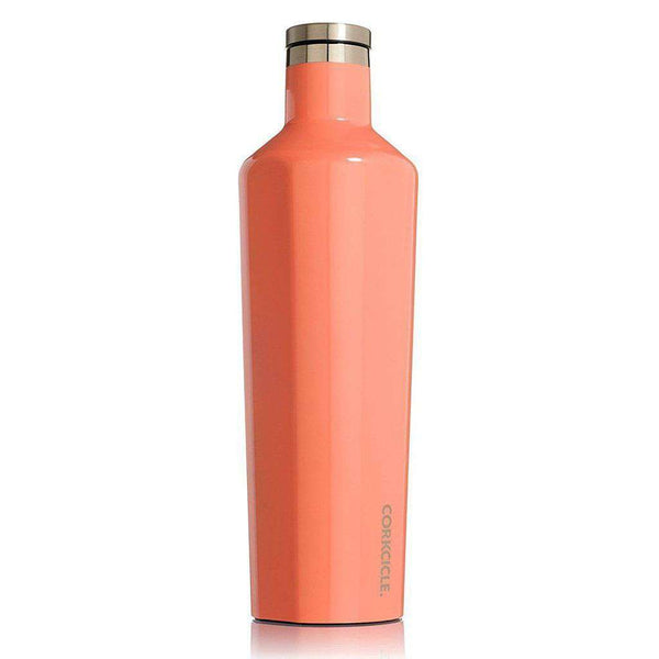 Cups & Glassware - Classic 25 Oz. Canteen In Peach Echo By Corkcicle