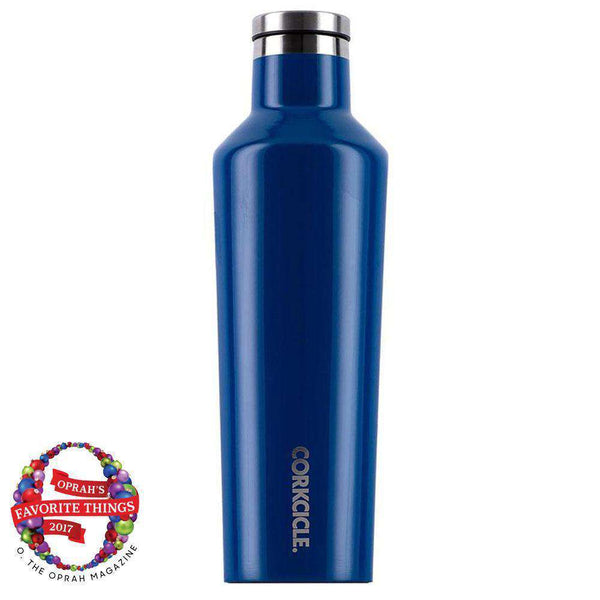 Classic 25 Oz. Canteen in Riviera Blue by Corkcicle