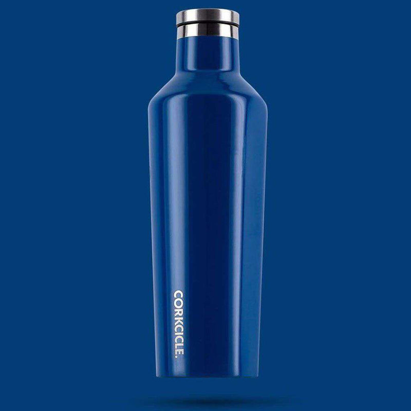 Cups & Glassware - Classic 25 Oz. Canteen In Riviera Blue By Corkcicle