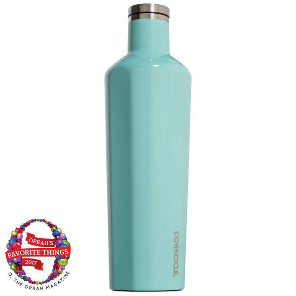 Cups & Glassware - Classic 25 Oz. Canteen In Turquoise By Corkcicle