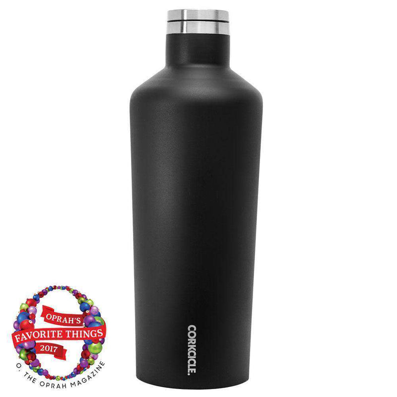 Cups & Glassware - Classic 60 Oz. Canteen In Matte Black By Corkcicle