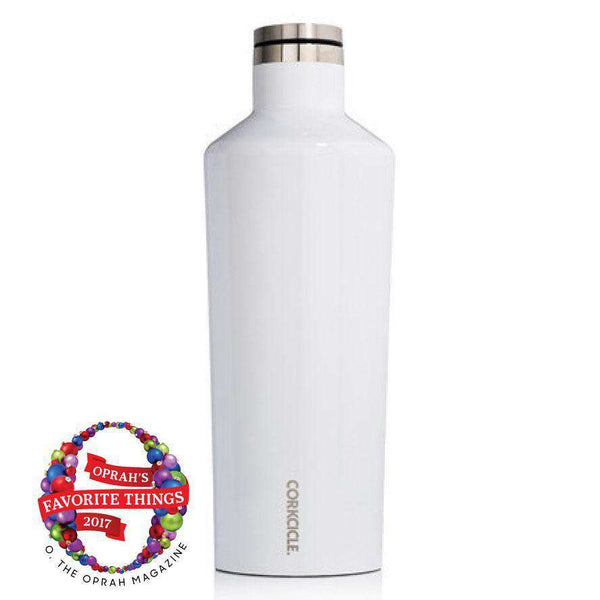 Cups & Glassware - Classic 60 Oz. Canteen In White By Corkcicle