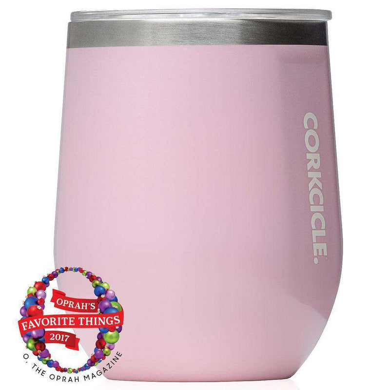Classic Stemless Wine Tumbler in Rose Quartz by Corkcicle