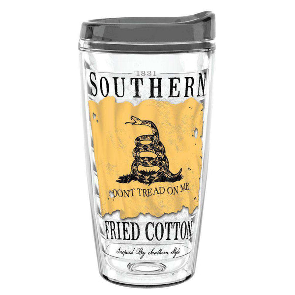Cups & Glassware - Don't Tread On Me 16oz Tumbler By Southern Fried Cotton