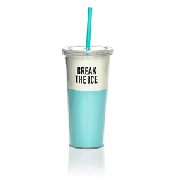 Cups & Glassware - Insulated Tumbler In Turquoise By Kate Spade New York