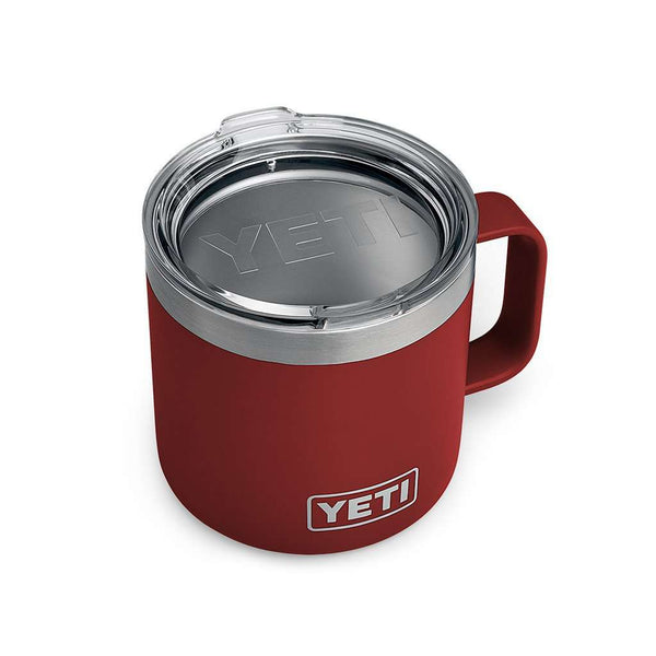 Cups & Glassware - Rambler 14oz. Mug In Brick Red By YETI