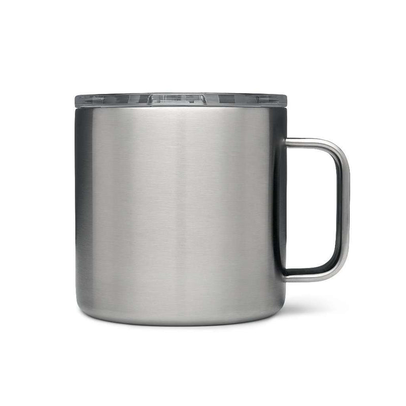 Cups & Glassware - Rambler 14oz. Mug In Stainless Steel By YETI