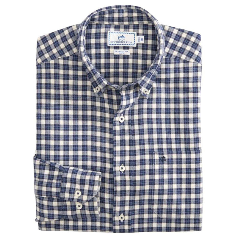 Country Club Prep Madras Blue / S
