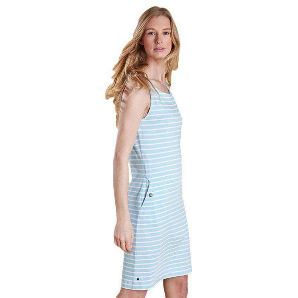 Dalmore Dress in Aqua by Barbour  - 1