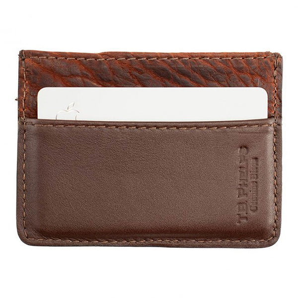 Davis Bison Credit Card Wallet by TB Phelps