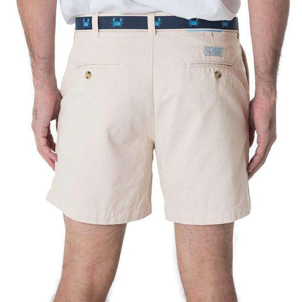 "Deck Shorts 6.5"" in Stone by Coast"