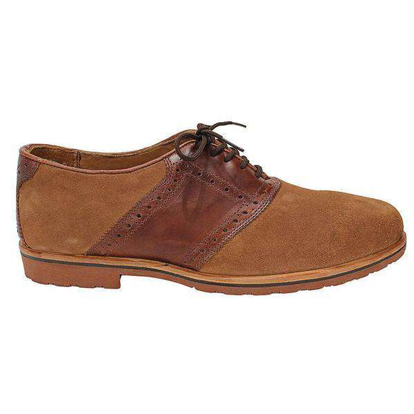 Country Club Prep Men's Saddle Up Shoes in Dirty Buck Suede and Briar by Country Club Prep - FINAL SALE