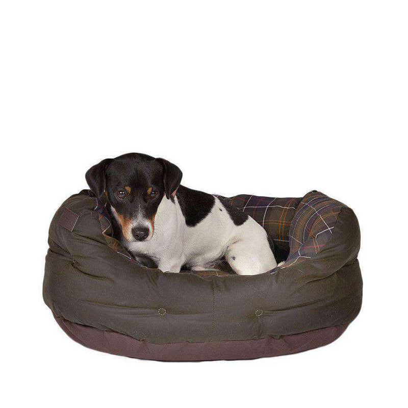 "24"" Wax Cotton Dog Bed by Barbour"