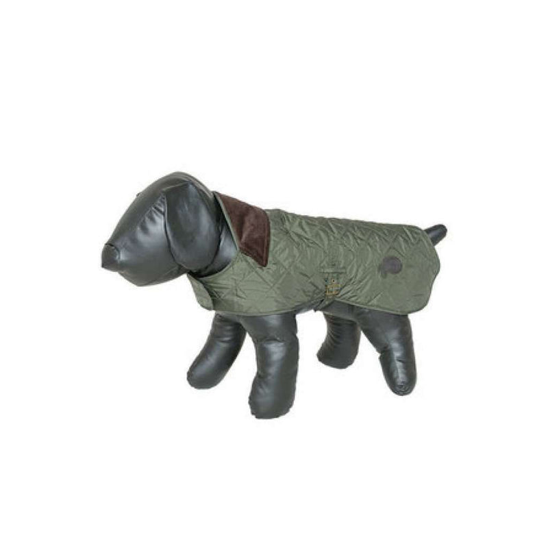 Dog Coat - Quilted Dog Coat In Olive By Barbour