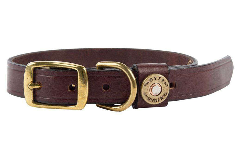 Dog Collars - Finest In The Field Dog Collar In Leather By Over Under Clothing