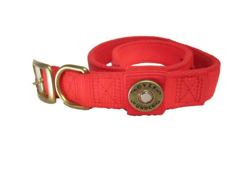 Dog Collars - Huntsman Dog Collar In Blaze Orange By Over Under Clothing