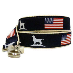 The Patriot Ribbon Leash in Navy by Over Under Clothing