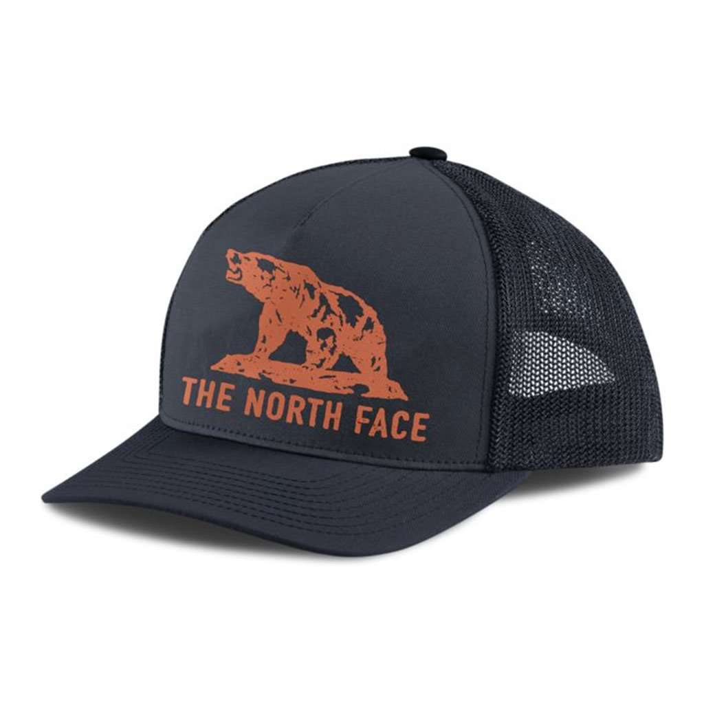 The North Face Keep It Structured Trucker Hat in Urban Navy & High Rise Grey