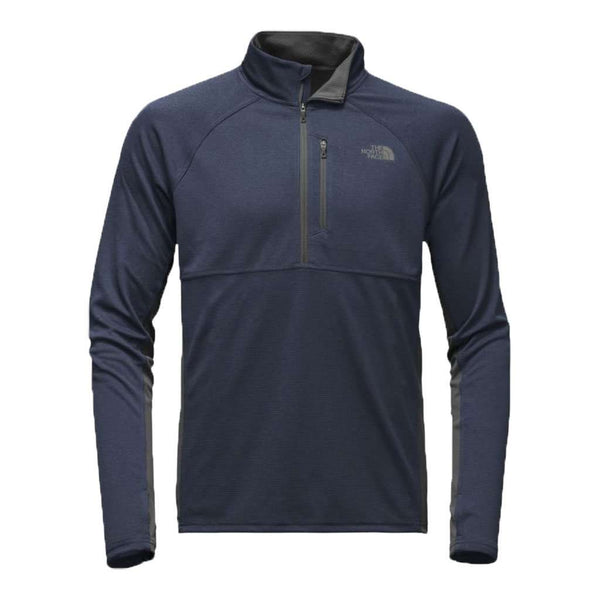 The North Face Men's Ambition 1/4 Zip in Urban Navy Heather & Asphalt Grey