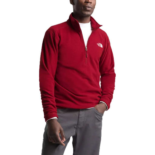 The North Face Men's Textured Cap Rock 1/4 Zip Fleece by The North Face