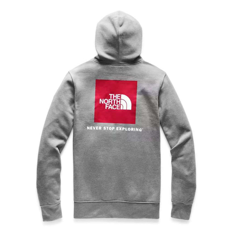 Country Club Prep TNF Medium Grey Heather and TNF Red / S