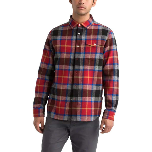 The North Face Men's Long Sleeve Arroyo Flannel Shirt by The North Face