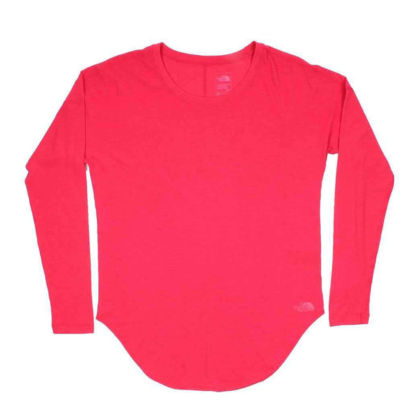 Women's Workout Long Sleeve Tee in Atomic Pink by The North Face