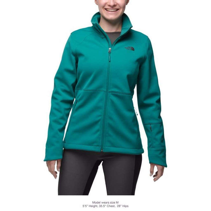 b789e76548b The North Face Women s Apex Risor Jacket in Harbor Blue – Country ...