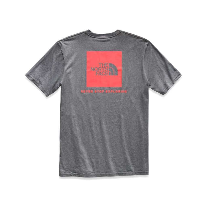 Country Club Prep TNF Medium Grey Heather and Fiery Red / S