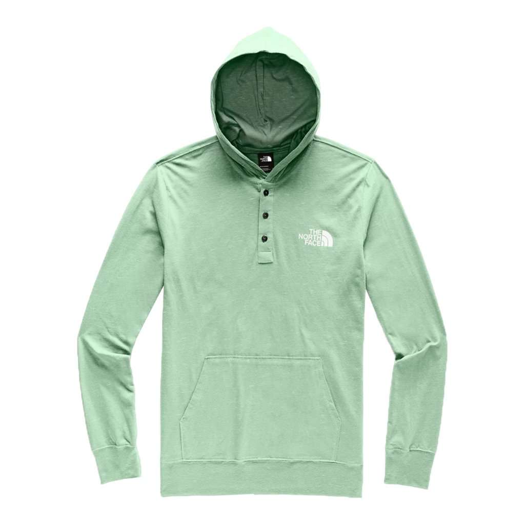 Men's Henley Injected Pullover Hoodie by The North Face