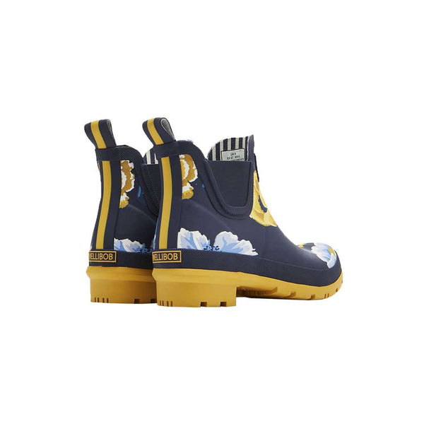 Wellibobs Short Printed Rain Boots by Joules