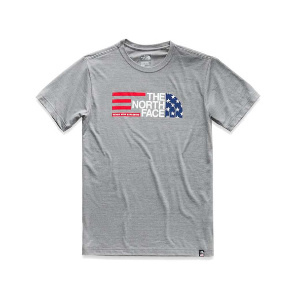 4a5d0d6726 The North Face Men s Americana Tri-Blend Tee by The North Face Country Club  Prep Medium Grey Heather   S