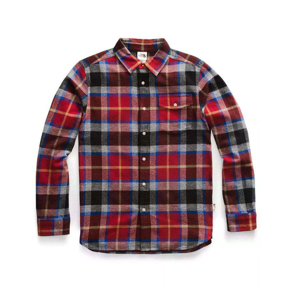Country Club Prep Cardinal Red Speed Wagon Plaid / S