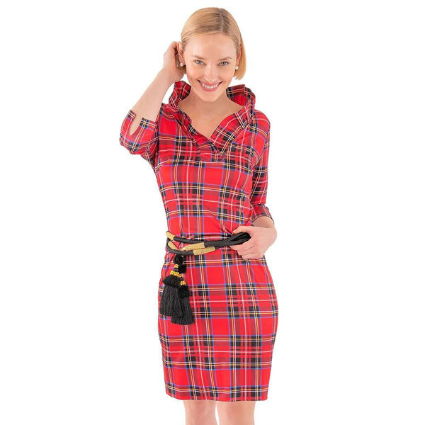 Country Club Prep Red Plaid Multi / XS