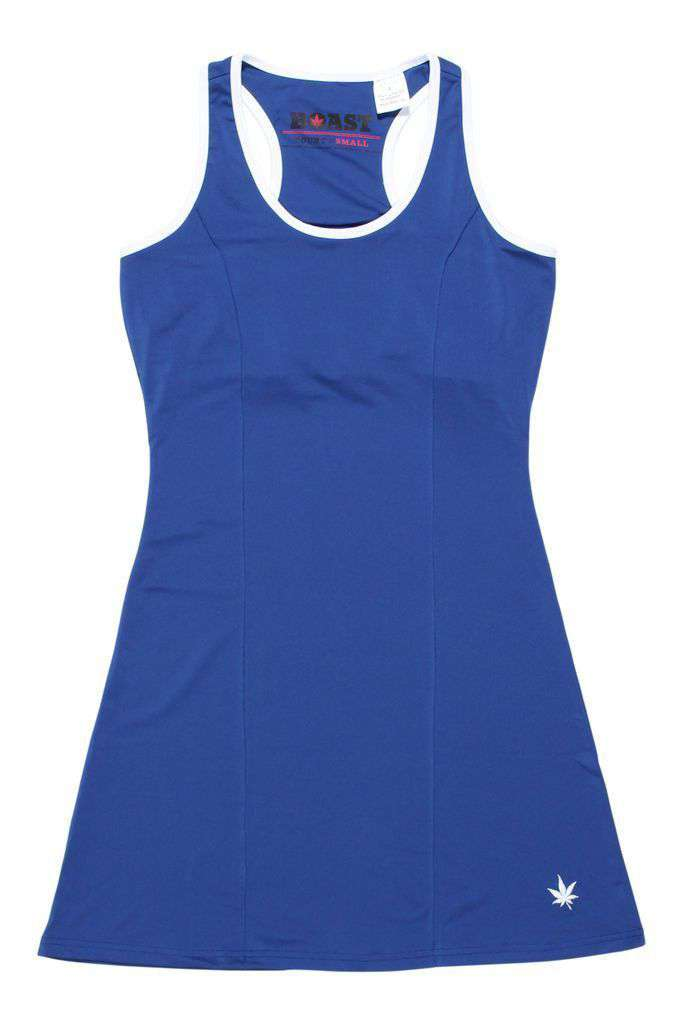 Dresses - A-Line Tennis Dress In Navy By Boast - FINAL SALE