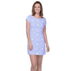 Dresses - Addie Irish Lace Periwinkle Dress In Blue By Mahi Gold