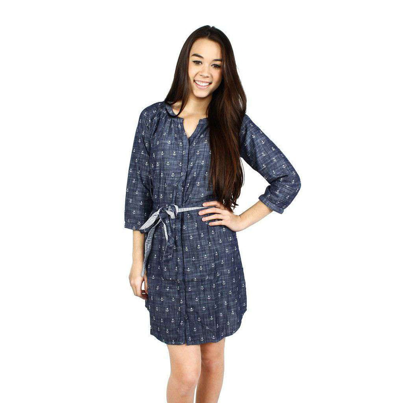 Anchors Shirt Dress by Hatley - FINAL SALE
