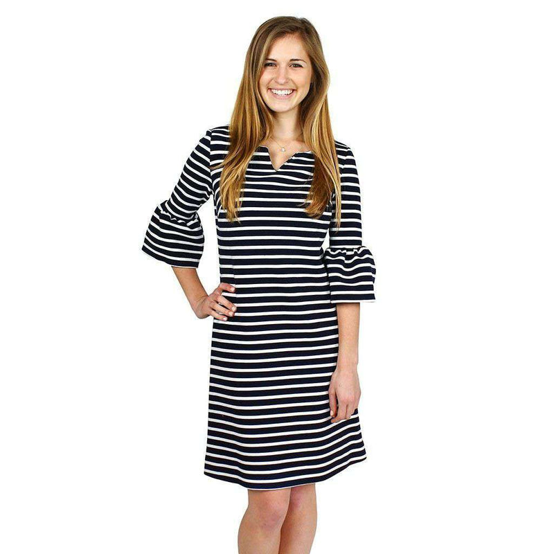 Dresses - Belle De Jour Dress In Navy By Elizabeth McKay