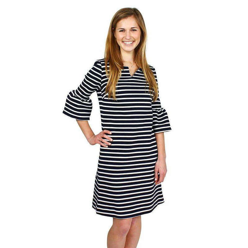 Belle De Jour Dress in Navy by Elizabeth McKay