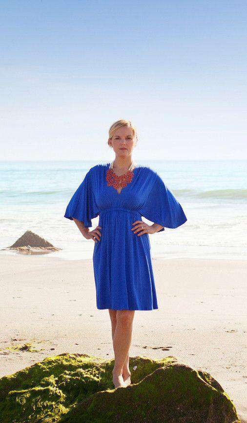 Betsy Dress in Harbor Blue by Southern Frock - FINAL SALE